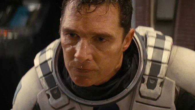 "\""Interstellar\"" actor Matthew McConaughey turns 51 today. Happy birthday!"