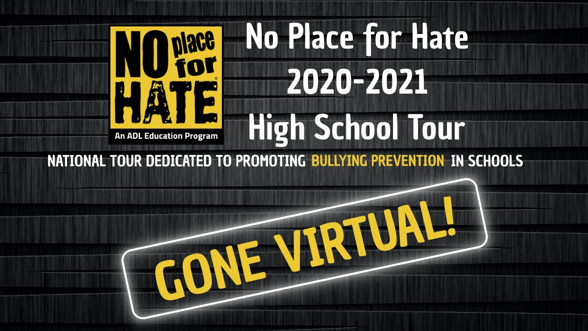 The No Hate Tour has gone virtual in 2021.
