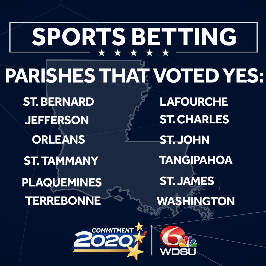 sports betting wdsu