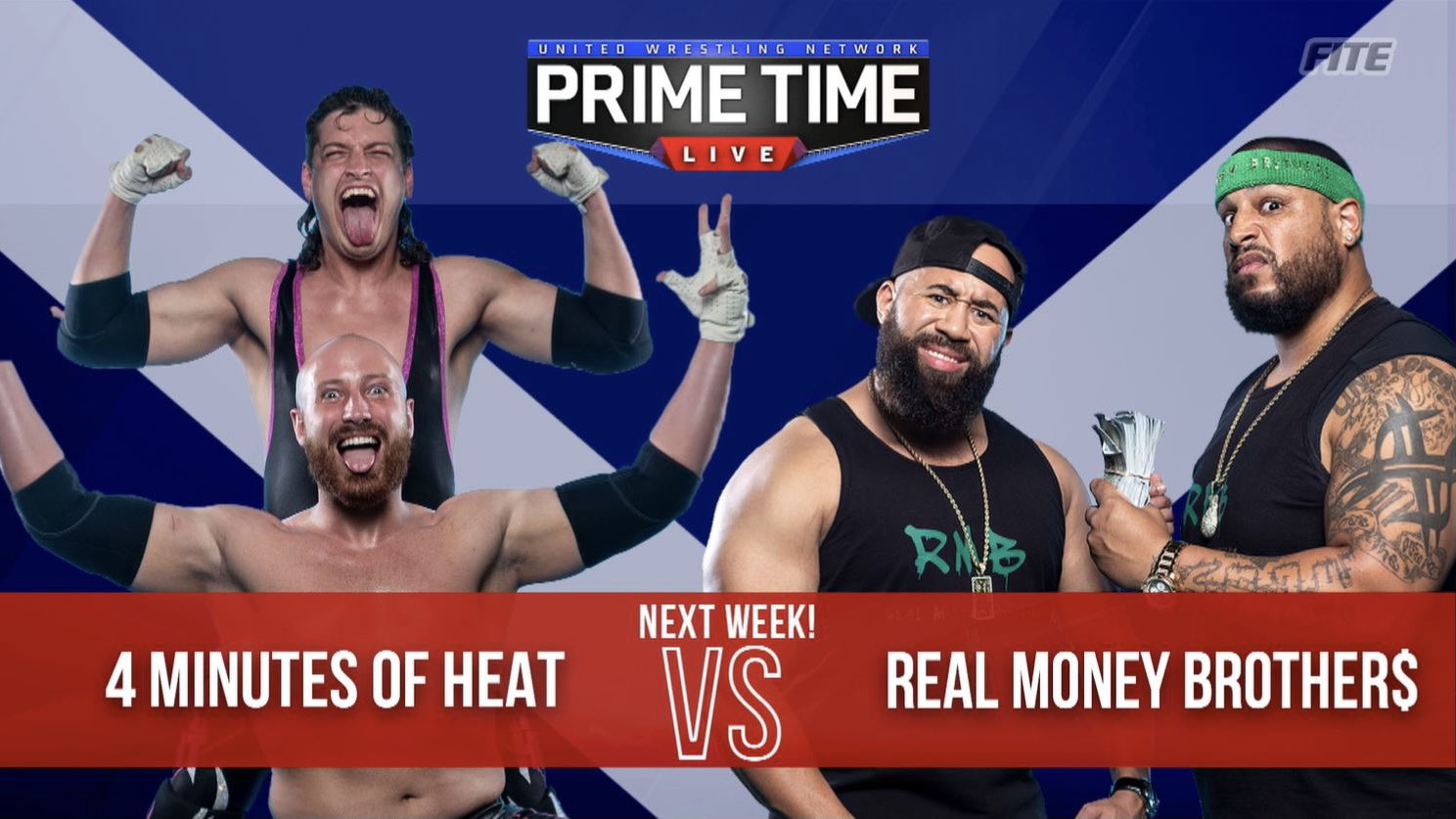 4 Minutes Of Heat vs Real Money Brothers UWN NWA