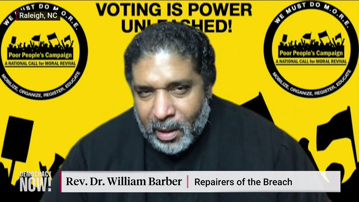 Image for the Tweet beginning: .@RevDrBarber says the fact that