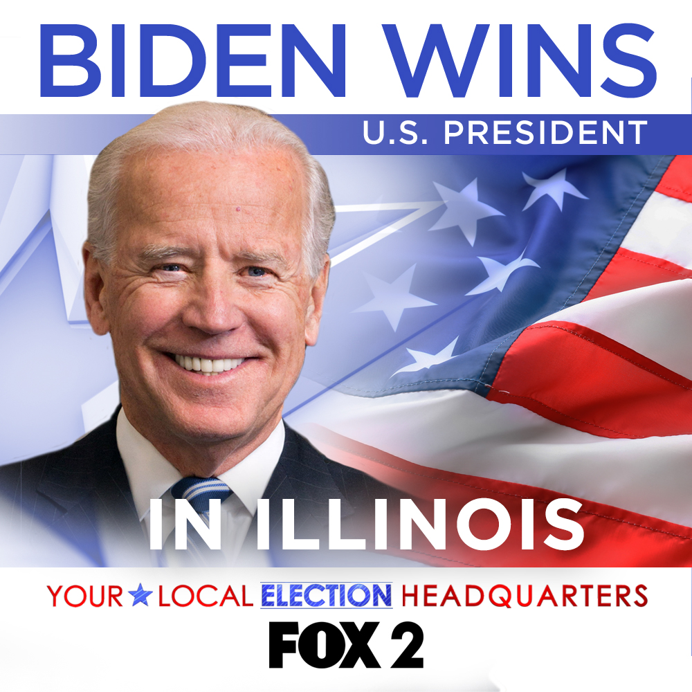 Joe Biden wins Illinois, AP projects