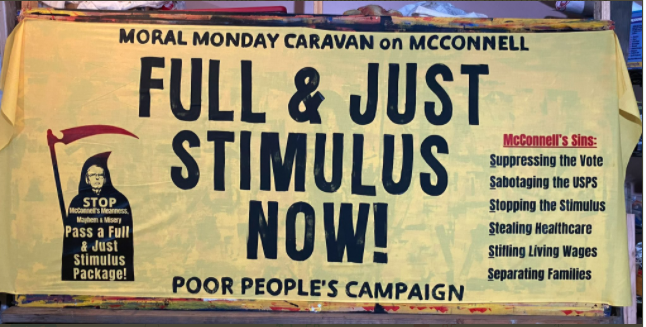 We will continue to stand against the McConnell's policies of meanness and mayhem. Forward Together, Not One Step Back!!! #2020Elections  #PoorPeoplesCampaign
