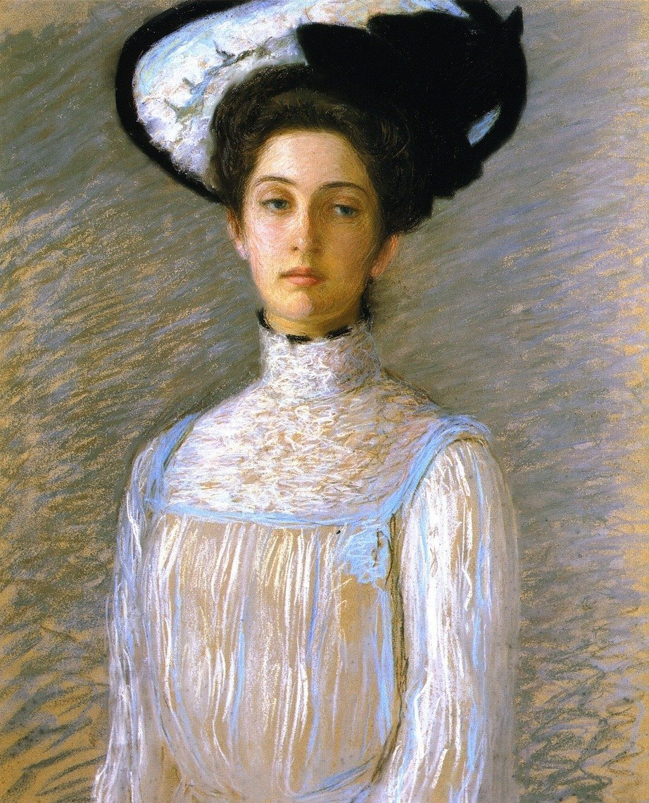 Lilla Cabot Perry (January 13, 1848 – February 28, 1933) was an American artist who worked in the American Impressionist style, rendering portraits and landscapes in the free form manner of her mentor, Claude Monet.