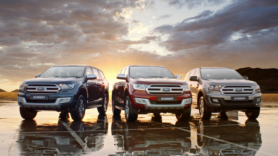 ONE EPIC SUV Our most adventurous SUV is now more advanced. Introducing the 2020 Ford Everest. Incredibly dynamic on the road and right at home off-roading it.  #Ford#FordEverest#FordbyCFAO https://t.co/eqzf8TanLq