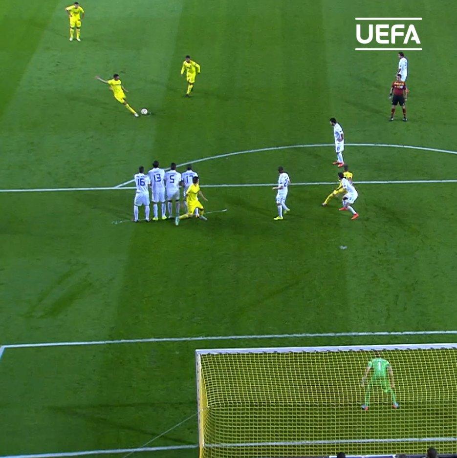 💛 Villarreal legend & record appearance maker Bruno Soriano on target 🎯🔥  🗓️ #OTD in 2014   @VillarrealCF | #UEL https://t.co/9nJRUBHrvR