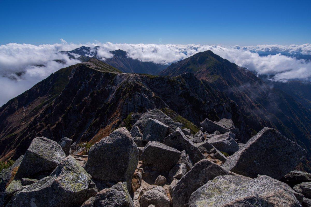 一時期m4/3が山用に欲しくなってたけど、結局山に持っていくのはK-1mkⅡがいいなとなった1枚  #PENTAX #山岳風景 #ファインダー越しの私の世界 #風景写真 #キリトリセカイ https://t.co/Gzak6714hB