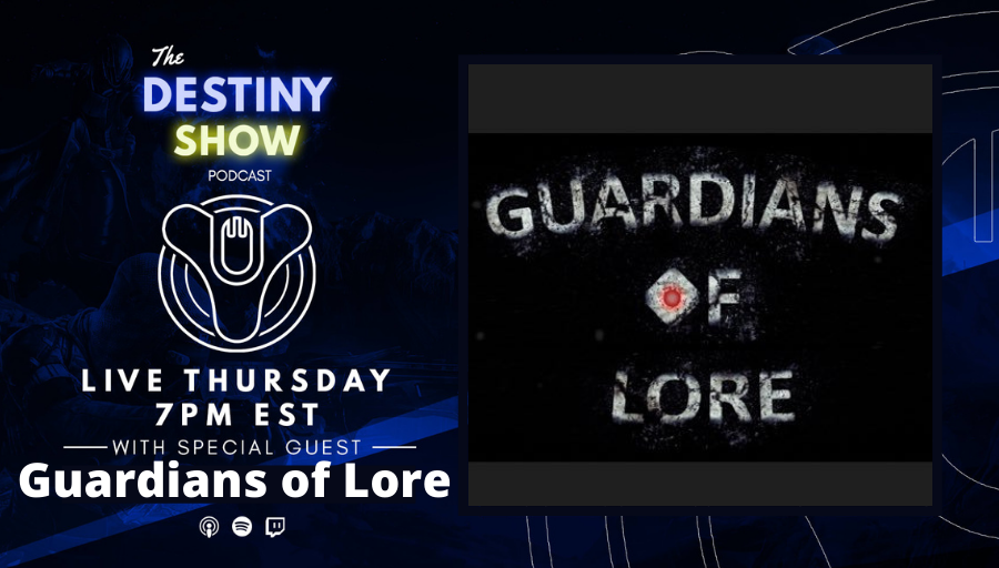 TheDestinyShow - Ears up, Guardians. A new episode is here with Guardians of Lore. We learn about the Guardians behind the lore, discuss sandbox changes and dive into the story of Destiny 2: Beyond Light. Streaming now on all platforms. 🔥  👉  👉