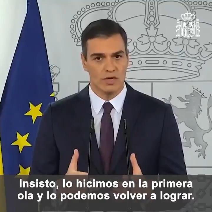 Twitter Pedro Sánchez. Queremos evitar a toda costa un nuevo c...: abre ventana nueva