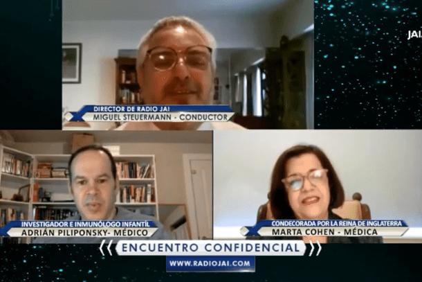 #Argentinos que se destacan en la #ciencia del mundo  En este encuentro confidencial recibimos a dos científicos argentinos que se destacan en el mundo. La Dra #MartaCohen y el Dr #AdriánPiliponsky  ¿Te lo perdiste? Todavía estás a tiempo para verlo➡️