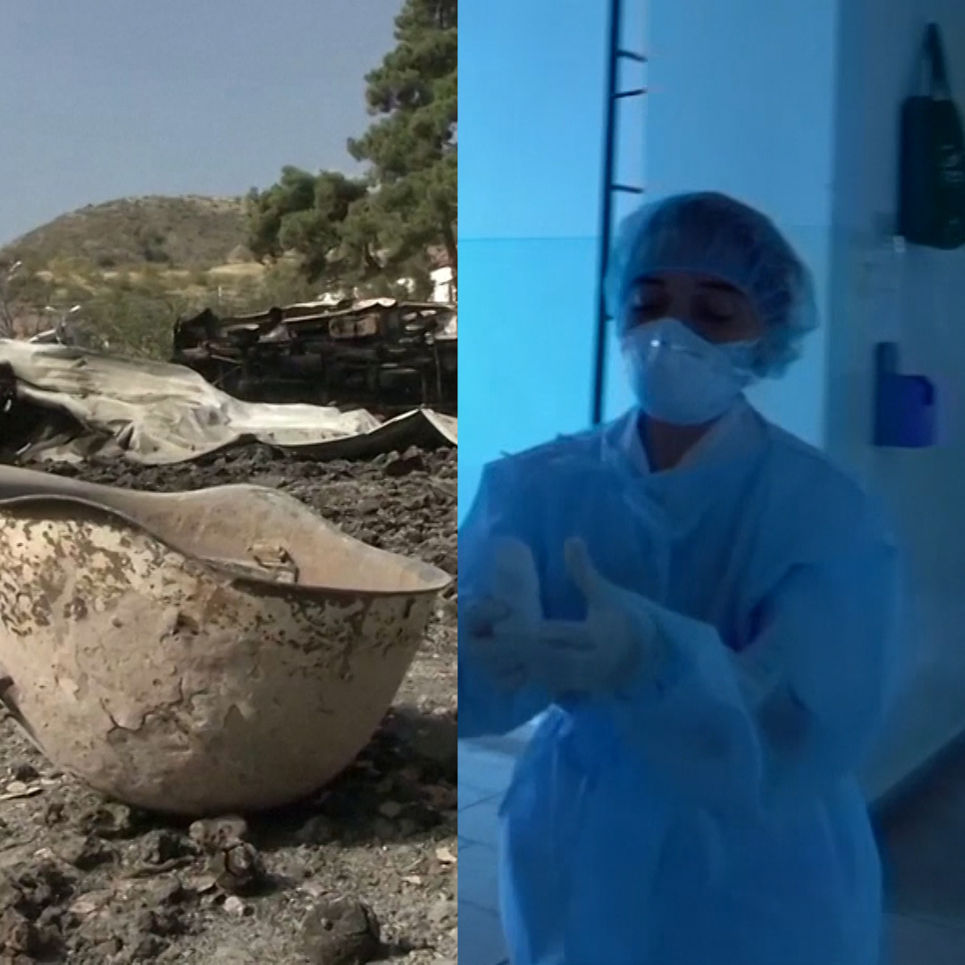 Heavy shelling is not the only threat facing residents in the Nagorno-Karabakh region, they are also confronting a coronavirus outbreak.