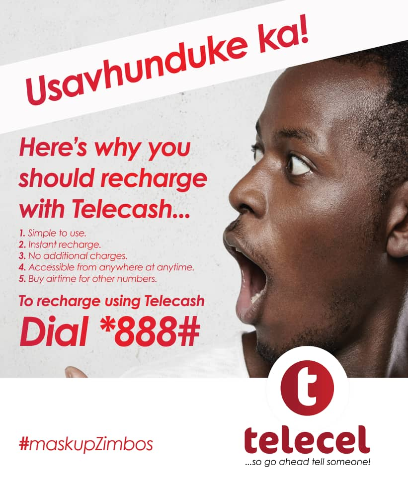 With Telecash you can do so much more! To transact dial *888# today. #telecash #tellsomeone https://t.co/p26auRfRwf