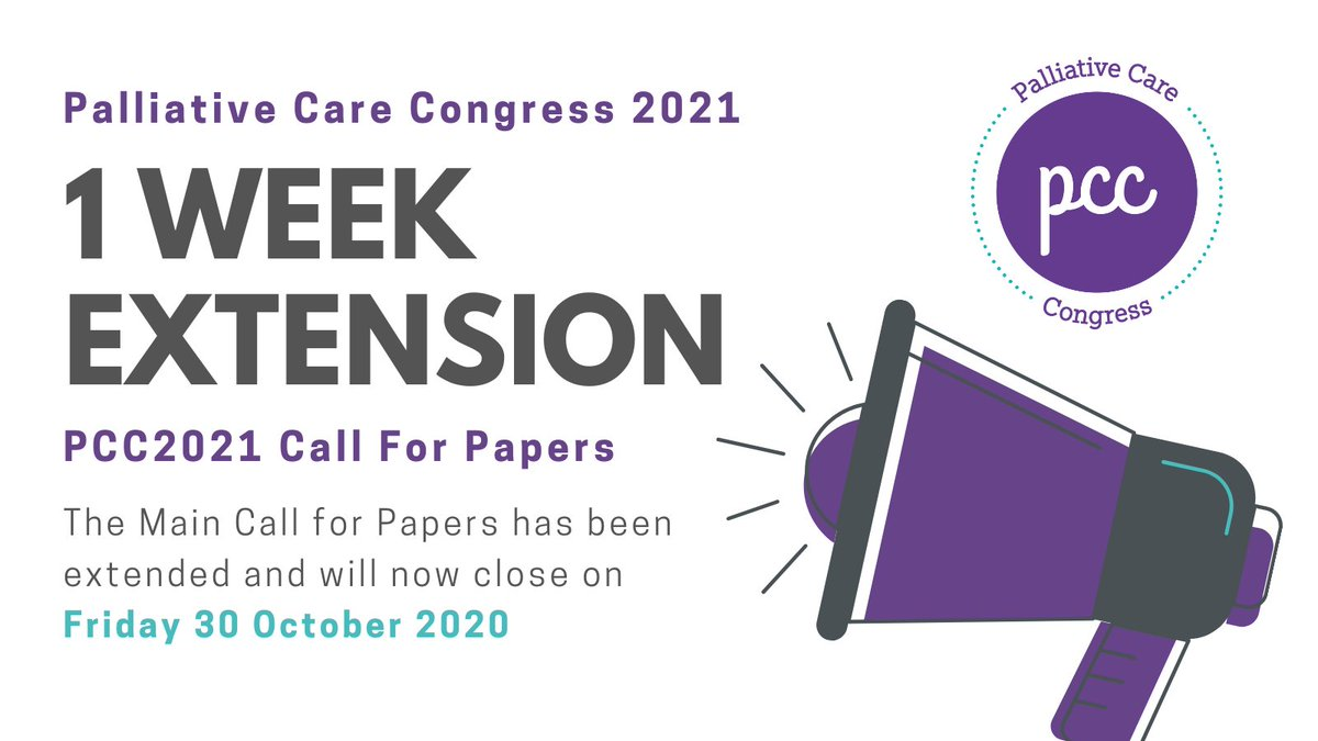 REMINDER... The call for Abstracts will be closing on Friday. To submit an abstract please visit our website: https://t.co/jnbhHoxIW9   If you have any questions please contact email us: admin@pccongress.org.uk