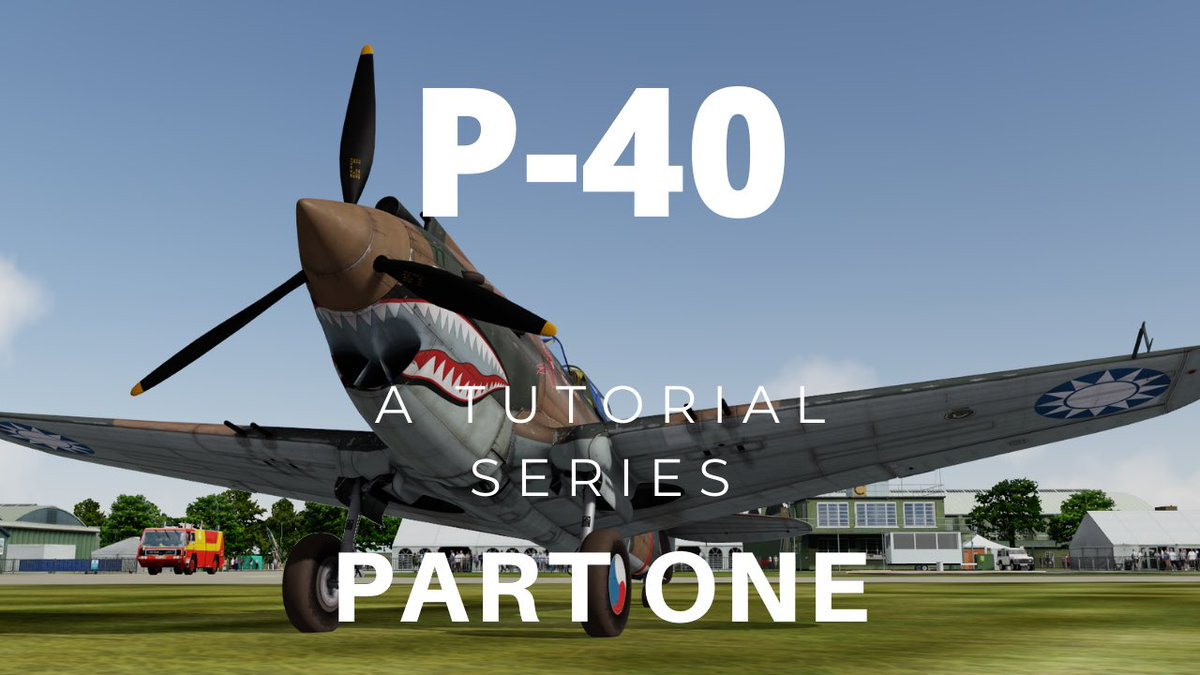 NEW VIDEO Part One of the tutorial series based on the fantastic @a2asimulations P-40 is now up on the channel. Watch here—> https://t.co/qNyt8eFdwt  #p40 #warbirds #flightsimulator #pilot #learningtofly #aviation #wwiihistory #duxford #avgeek #flying #p40warhawk #p40tomahawk https://t.co/ZZTH6XYHcc