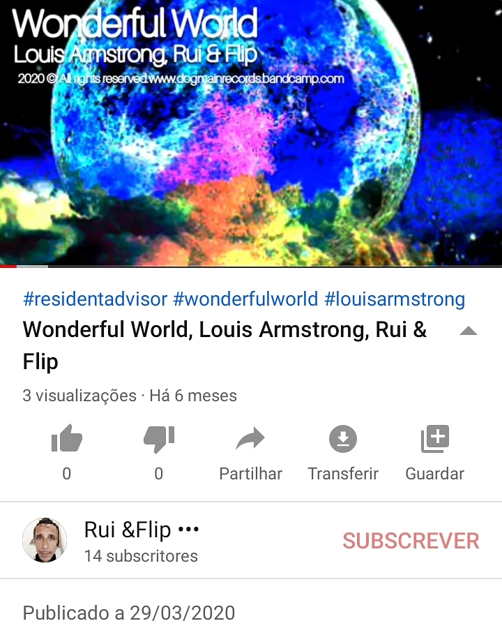 Wonderful World, Louis Armstrong, Rui & Flip #residentadvisor  #wonderfulworld #louisarmstrong #housemusic #remix #microhouse #techno #Portugal #music #producers #beats #ableton #LA #LEIRIA https://t.co/H8PLzsPkmD  ©2020 all rights reserved  @youtube  .. . #musicmakrs https://t.co/ZMJfjHoIgt