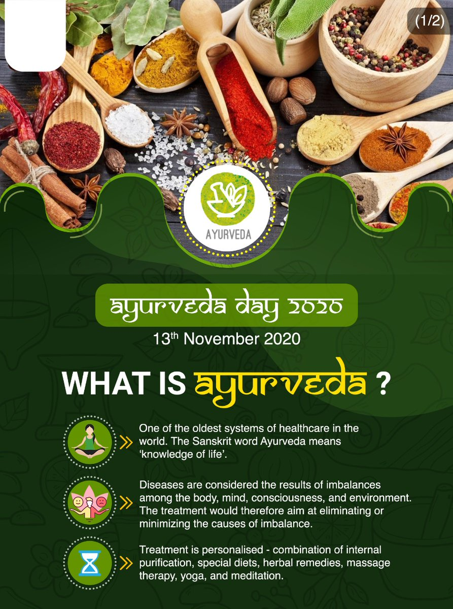 #AyurvedaDay How does it help to boost our immunity?  Check out  for more interesting information regarding Ayurveda! #AyurvedaDay  #Ayurveda4Health  @MEAIndia   @IndianDiplomacy https://t.co/sZAYcfX4Cx
