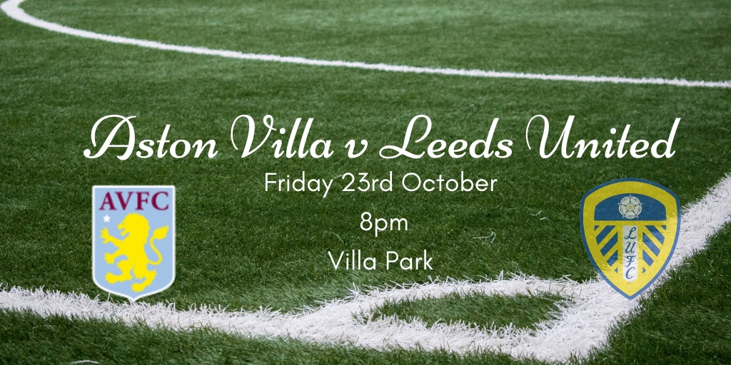 Friday Night Lights!   Tonight Leeds take on Aston Villa for the first time since that fateful day back in April 2019.  Have a read of our preview ⬇️   https://t.co/aHMVoh4vpC  #lufc #mot https://t.co/84sy2VMCRf