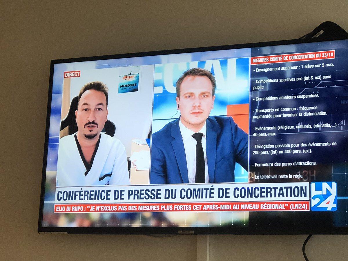 Philippe Devos: «On a commencé à transférer des patients vers l'Allemagne. Les hôpitaux belges ne pourront pas en faire autant que lors de la 1ere vague». #Covid_19 https://t.co/1GGi66iIKI