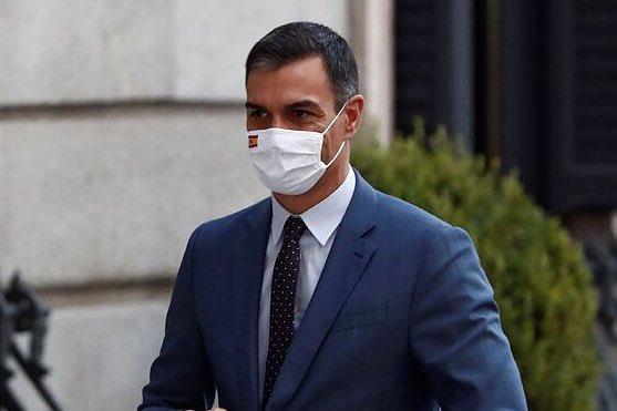 #ÚLTIMAHORA ‼️ | #COVID19 ☣️ #Covid_19 🦠  🇪🇸 España | @desdelamoncloa   Pedro Sánchez comparecerá a las 12:30h desde el Palacio de la Moncloa para hacer una declaración institucional. https://t.co/98WVFHgZHN