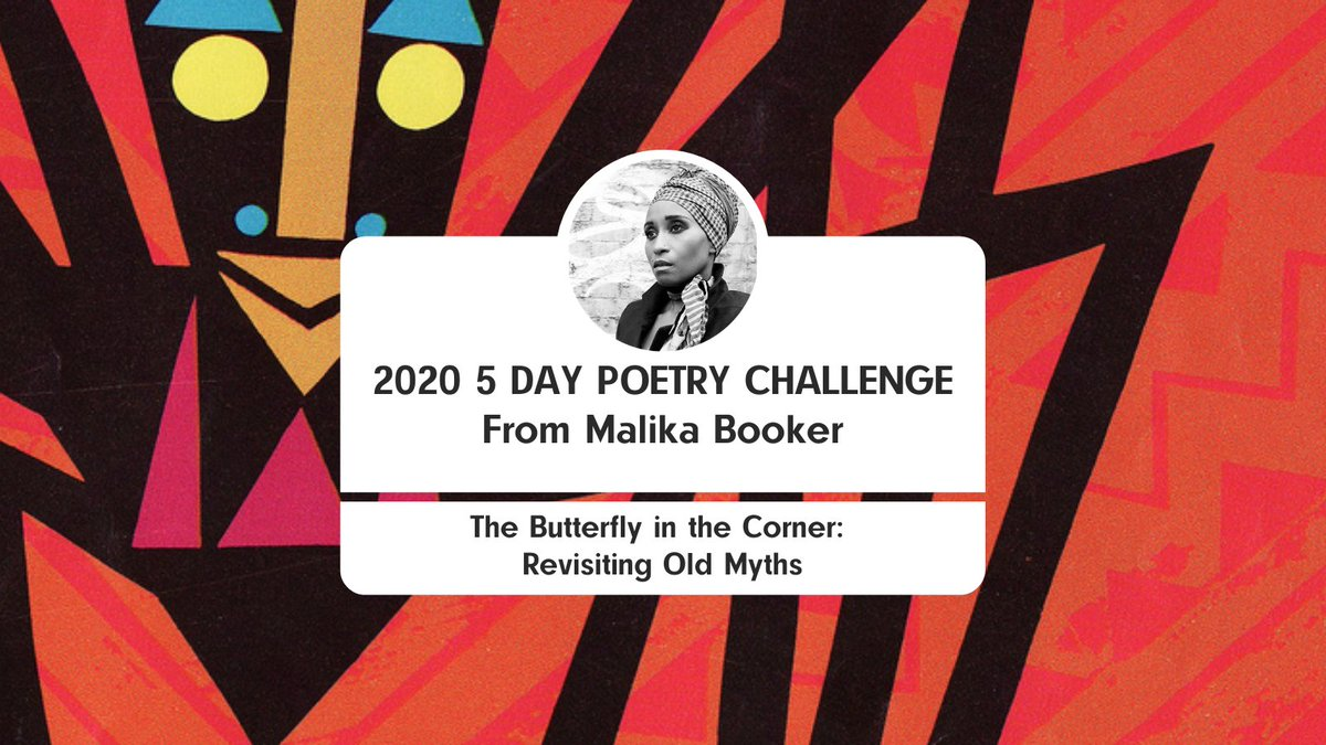 Join in with our (free!) 5-Day Poetry challenge with @Malikabooker; receive her instructions via email to write a mythology themed poem from 29 Oct to 2 Nov... A randomly selected poet will win a free Arvon masterclass! Sign up by 17:00 on 27 Oct: lght.ly/imja283