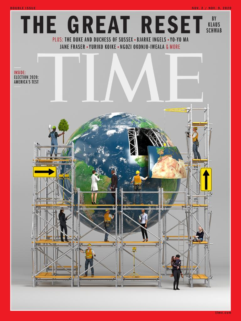TIME's new international cover: The great reset https://t.co/lN2rvgtjX8 https://t.co/qjzJW5SLAW