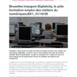 Image for the Tweet beginning: Bruxelles a e-inauguré #Digitalcity :