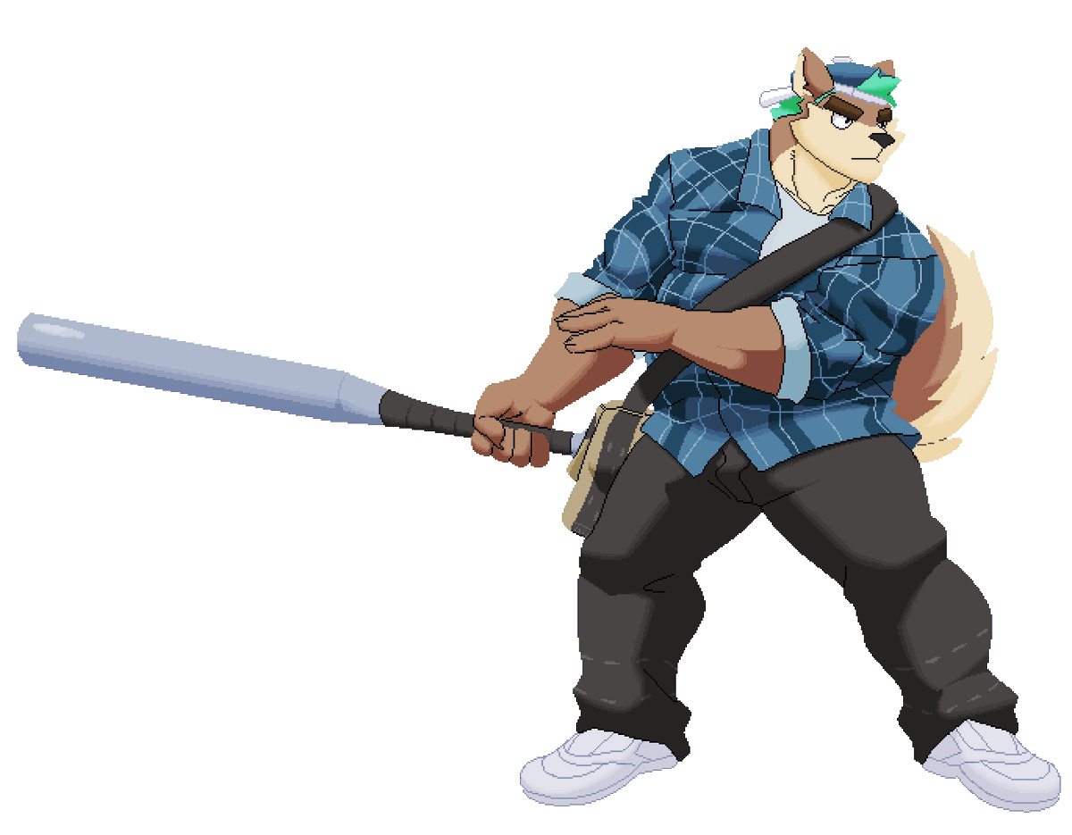 (1) 2D sprite commissions for @TheGilamonstar
