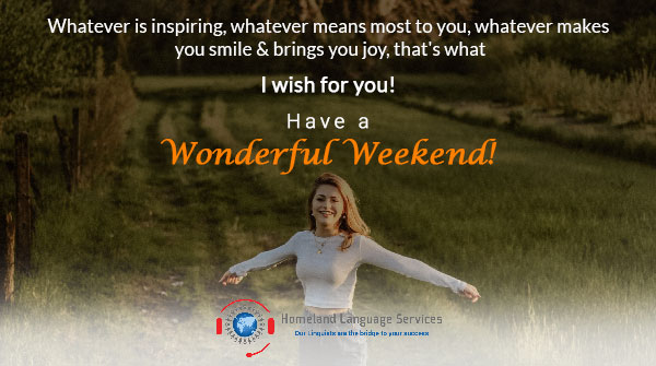 Change your way of thinking. Use your energy to accomplish more productive things. The choice is yours and it can be made today!  #weekend #weekendvibes #friday #happy #weekendmood #stayhome #goodvibes #HomelandLanguageServices #weekendaway #weekendtime #weekendgoals #weekendtrip https://t.co/o7o0899eET