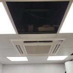 Image for the Tweet beginning: Mitsubishi Electric Air Conditioning Install!