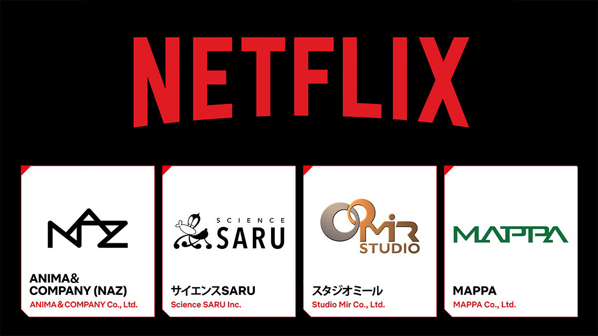 """Anime News And Facts on Twitter: """"Netflix has announce new Business Partnership with 4 Anime Studios Namely: • Science SARU • MAPPA • Studio Mir • NAZ… https://t.co/sg91nsa2s1"""""""