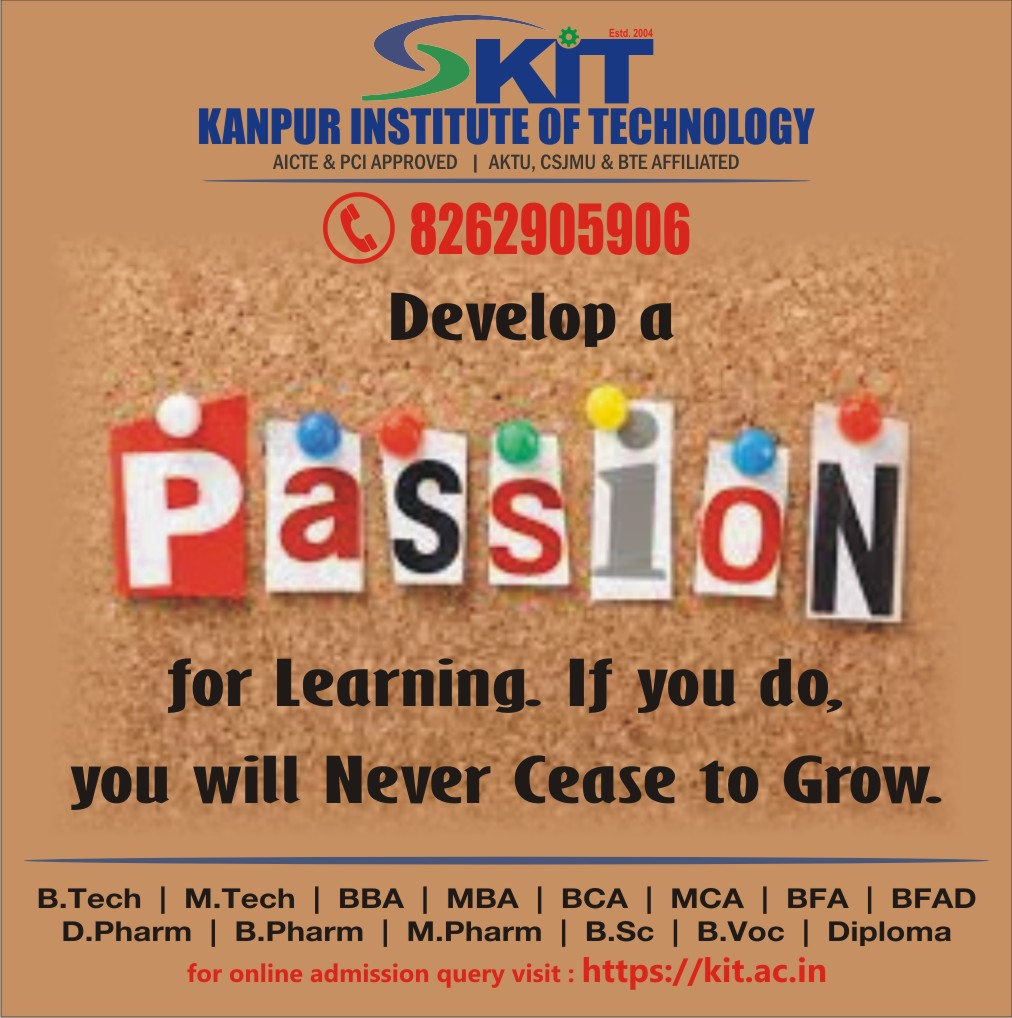#Passion #Learn #Success #Growth #Life #BBA #BCA #BFA #BFAD #Bpharm #BSc #Btech #BtechLateral #BVoc #DiplomaInEngineering #DiplomaInEngineeringLateral #Dpharm #MBA #MCA #Mpharm #Mtech #KIT #Kitian #KANPUR   Admissions Open for Session 2020-21 For more details on courses kindly https://t.co/5X3jmYK9X3