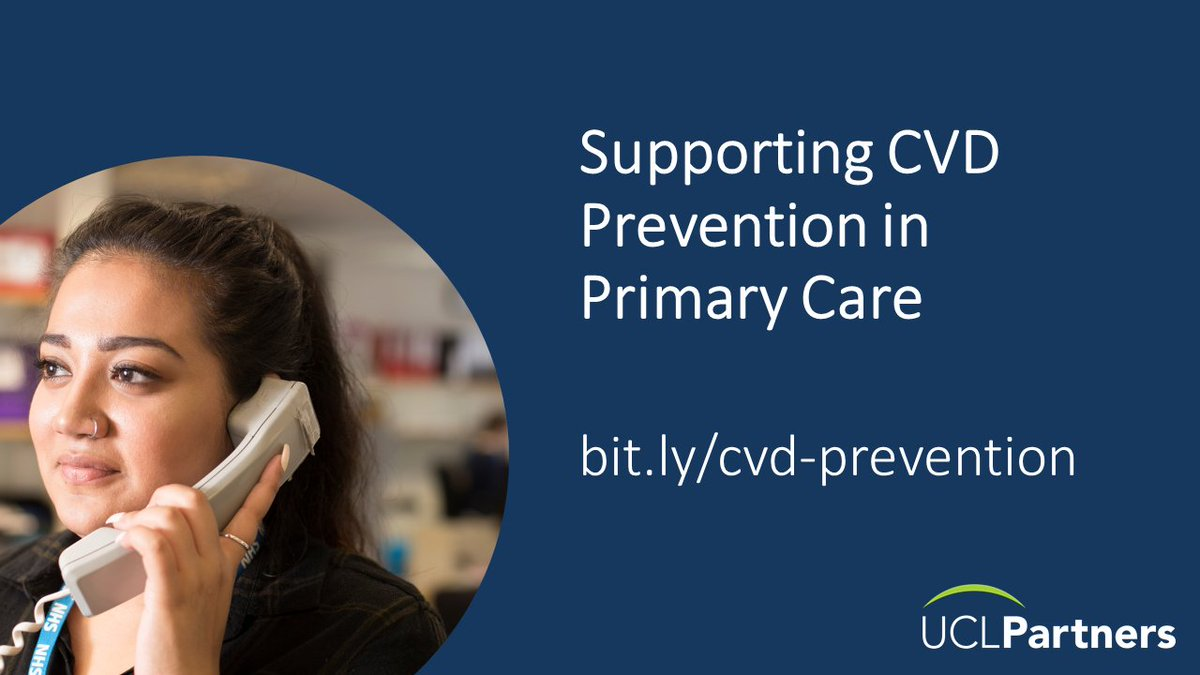 The pandemic has meant support for #CVD prevention in primary care has had to change.  Join @UCLPartners and @TheBHF on 11 November to hear how others have changed their practice and discover tools and resources that support a virtual first approach.  https://t.co/UySfNHzC91 https://t.co/7qbtmscuGz