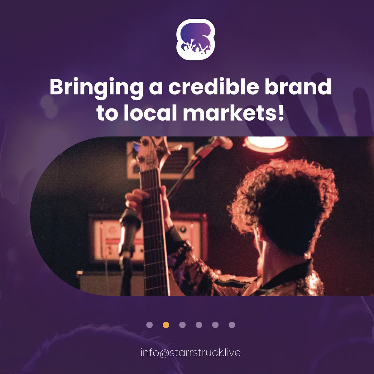 At Starrstruck we strive to achieve excellence by bringing our brand to local markets. Starrstruck is a trustworthy platform that helps performers connect with their audience… no matter the circumstances.  #starrstruck #events #performers #artists #ecommerce #production https://t.co/lAqXCZ1qzA