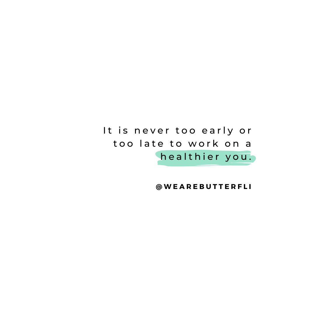 Growth is never one-and-done you always have a choice no matter what stage of your life you are in. You're only too late if you're not willing to be better than you are right now☝🏼 💭  #WeAreBUTTERFLI #Butterfli #radicalselflove #healthiswealth #believeinyou #lifeadvice #bestyou https://t.co/KZYmKUqYqG