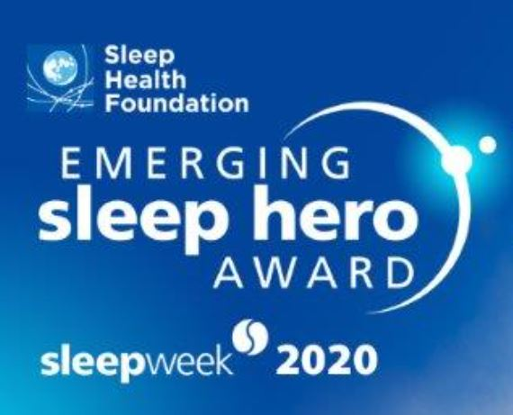 What amazingly talented finalist tonight at the inaugural Emerging Sleep Hero event. We are pleased to announce the winner was Clare Ladyman from Massey Uni NZ, 2nd place Meagan Crowther from CQU Adelaide and third place Hailey Meaklim from Monash Uni Melb. https://t.co/V89W15VuHE