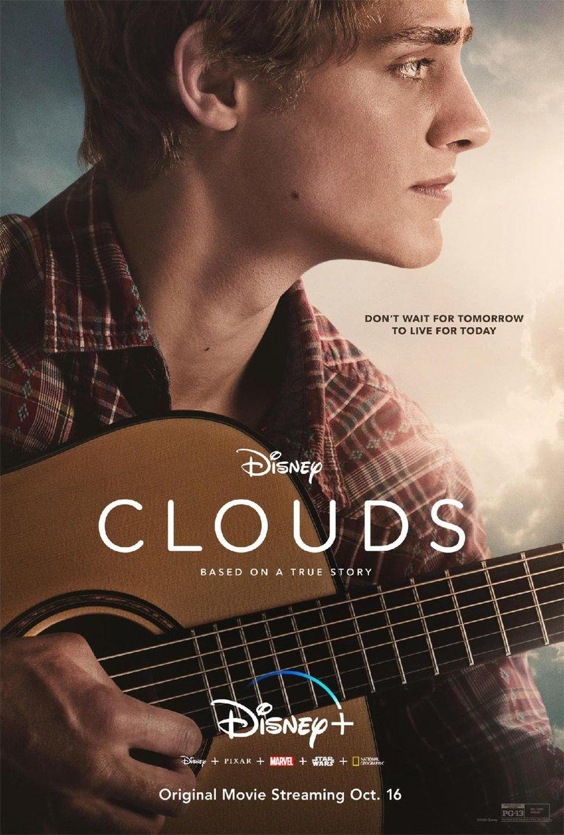 191. #CloudsMovie (2020) Premisnya seperti menggabungkan I Still Believe dan Five Feet Apart, tapi Clouds membawa kisah nyata Zach Sobiech yang meninggal 2013 lalu karna kanker stasium akhir dan bagaimana usahanya untuk membahagiakan orang-orang di sekitarnya. 3/5 https://t.co/UoSw7vlvF2