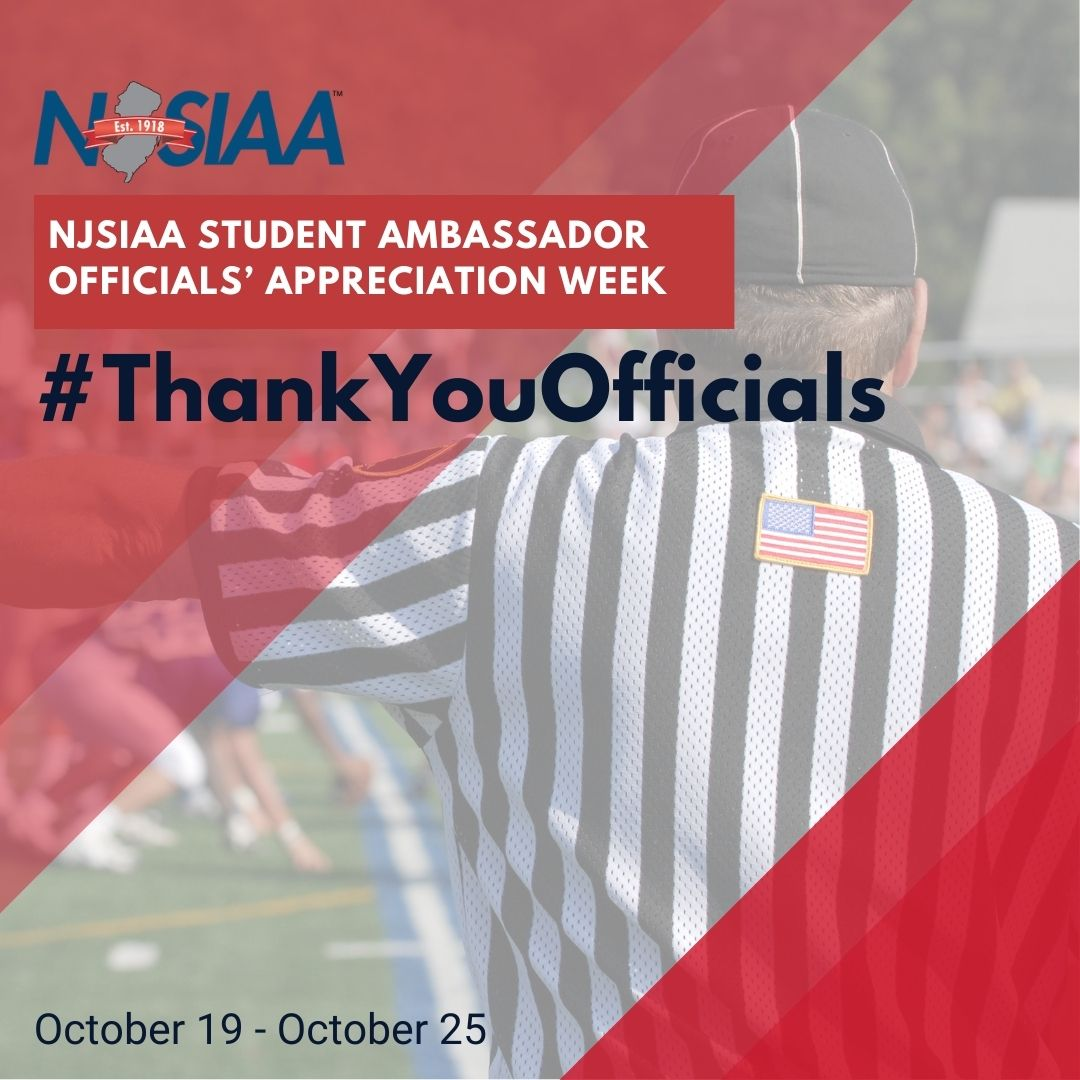 Hey, team captains! Work with your coaches and athletic administrators to recognize officials prior to a game. And, be sure to post your activity on social media to bring awareness to the importance of high school officials in all our sports! #ThankYouOfficials