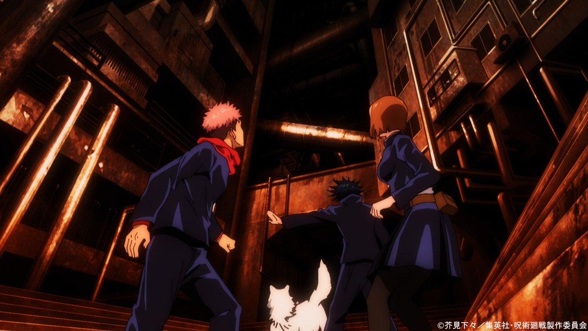 『呪術廻戦』アニメ公式さんの投稿画像