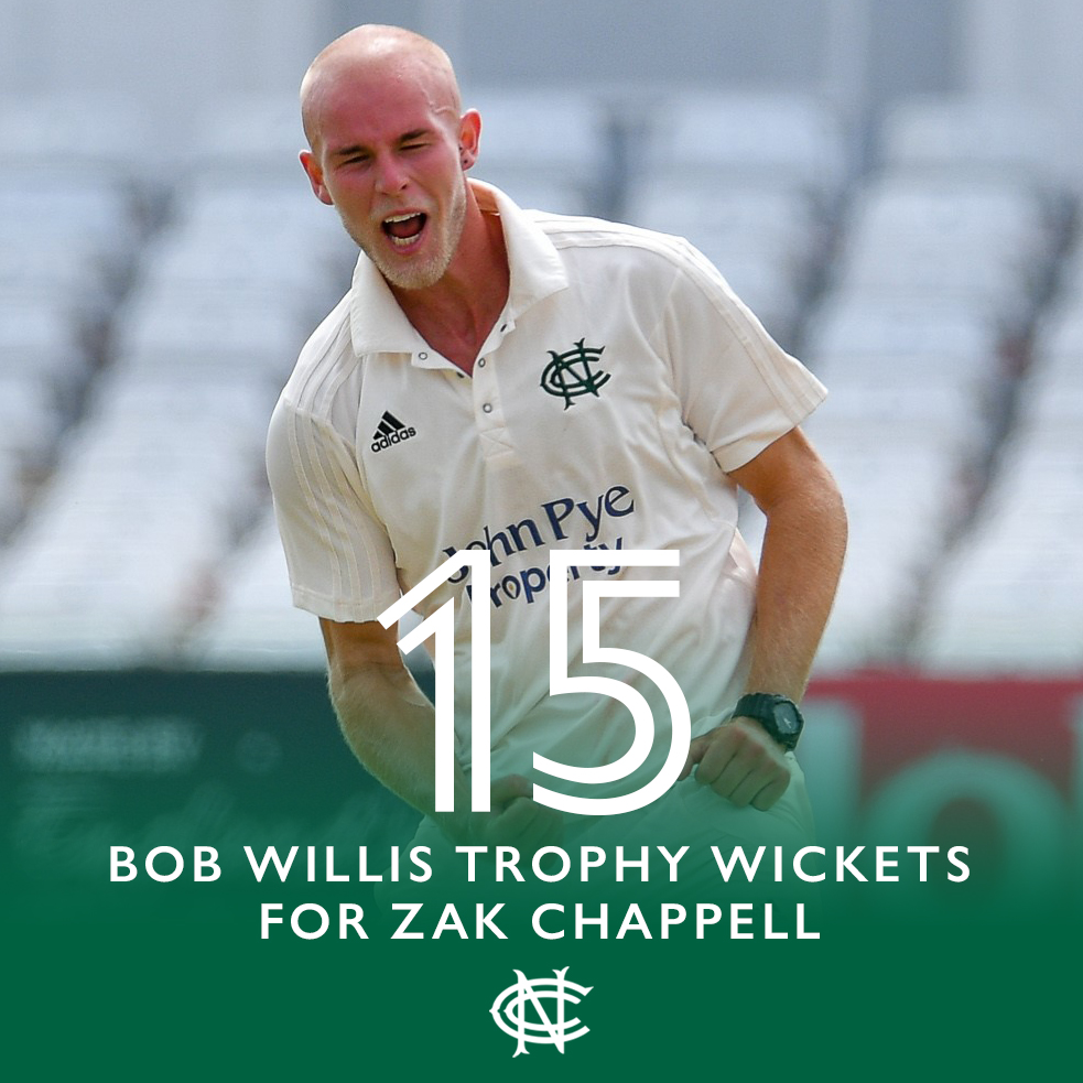 A breakthrough year on the hallowed turf for Zak Chappell. #NottsInNumbers