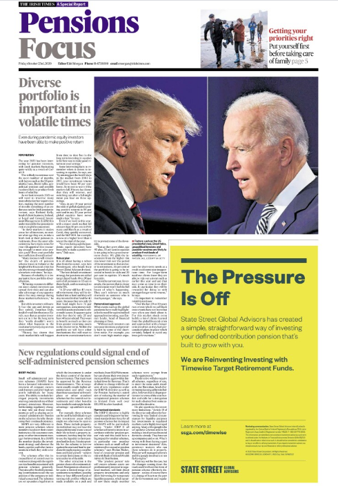 In today's @IrishTimes our Pensions Focus Special Report looks at how given current market volatility, it's important to have portfolio diversification. In association with @bankofireland & @Brewin_Ireland . Get your copy with today's Irish Times or with our ePaper. https://t.co/yRQ5Hs7sSx
