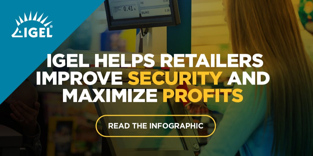 Read the new infographic to learn that #IGEL is the simple and #secure way for #retail to deploy and manage Endpoints. #EUC #WFH https://t.co/UAqfMqwMuh https://t.co/0zWnUWfmTF