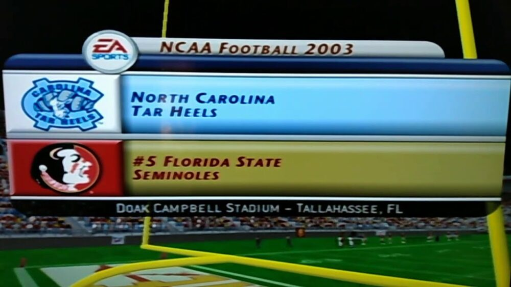 NCAA FOOTBALL🏈2003 #5 NORTH CAROLINA TAR HEELS AT FLORIDA STATE SEMINOLES 10/17/20 https://t.co/itp1zzh9DI https://t.co/JQY45ypvK9