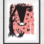 Image for the Tweet beginning: Win a Dublin Vampire print