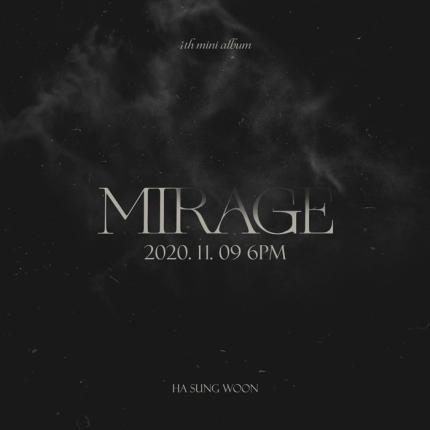 #HaSungWoon akan melakukan comeback dengan merilis 4th mini album 'Mirage' pada 9 November mendatang pukul 6PM KST   https://t.co/MEBiBSPdLt #AM https://t.co/msmZ3MyFCT