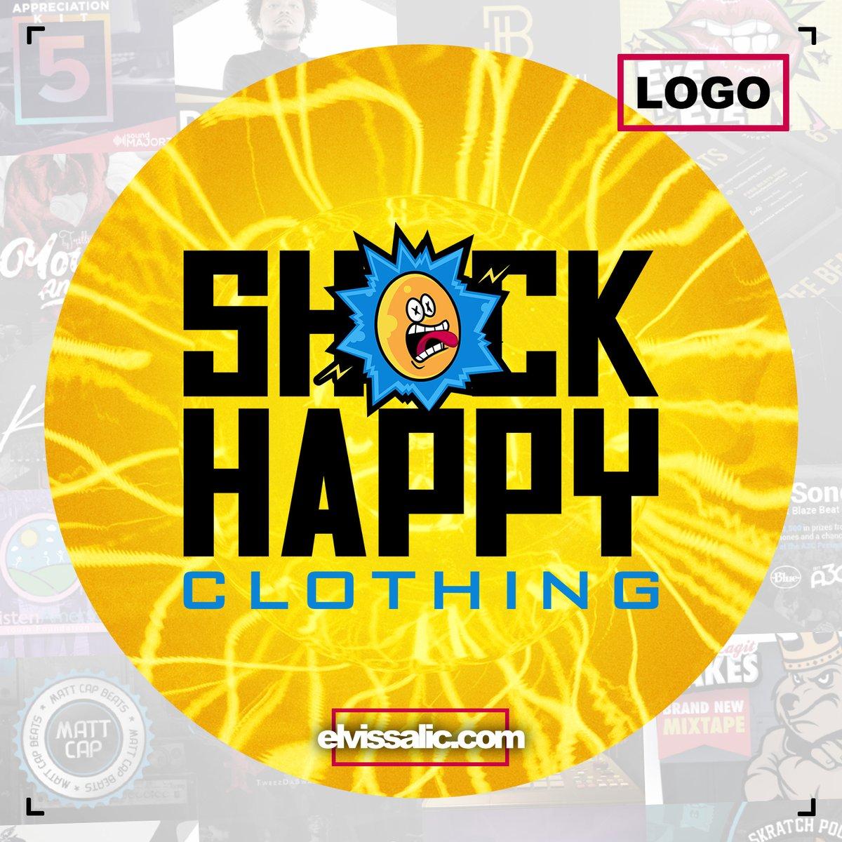 Logo development for Shock Happy Clothing  #graphic #design #graphicdesign #illustrator #vectordesign #brandingdesign #logooftheday #logoinspiration #logodesigner #logocreation #illustratordesign #designoftheday #mascot #logomascot #vectormascot https://t.co/88DslipSbX