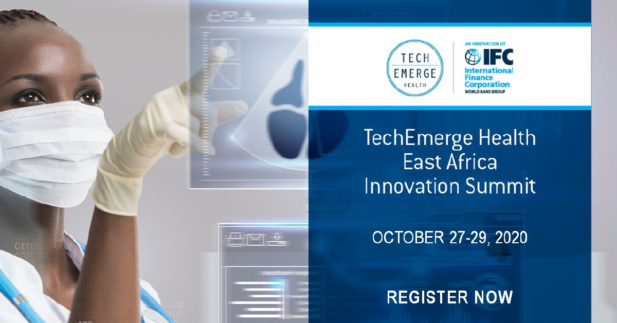 Join the world's most innovative #tech companies, investment experts & top #health providers in #Kenya, #Ethiopia & #Uganda at the @IFC_org #TechEmergeHealth East Africa Innovation Summit on Oct. 27. Register for online product demos, networking & more.  https://t.co/BNz19kdCIZ https://t.co/2n5zk2bXDd