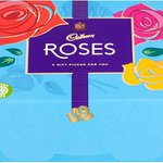 Image for the Tweet beginning: Cadbury Roses Chocolate Gift Carton