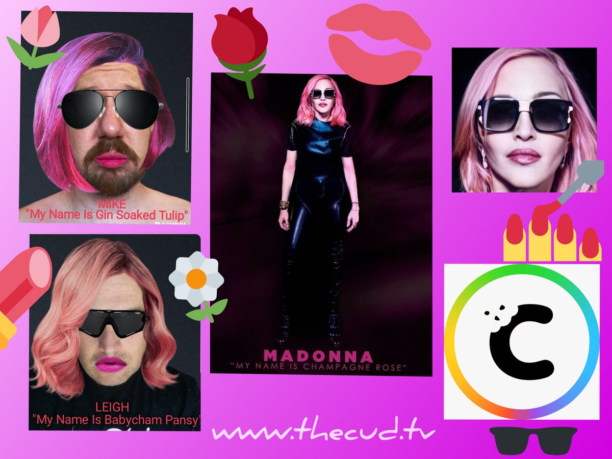 Where @Madonna goes @LeighLoopeth & @mikebennionrowe follow! #ChampagneRose #Madonna #PopSinger #LGBTQally  https://t.co/80eZt8rt9Z https://t.co/SB9kLUd6Dh