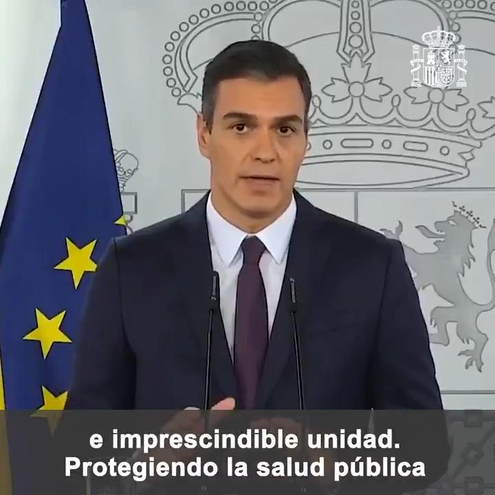 Twitter Pedro Sánchez. El objetivo vuelve a ser contener la pa...: abre ventana nueva