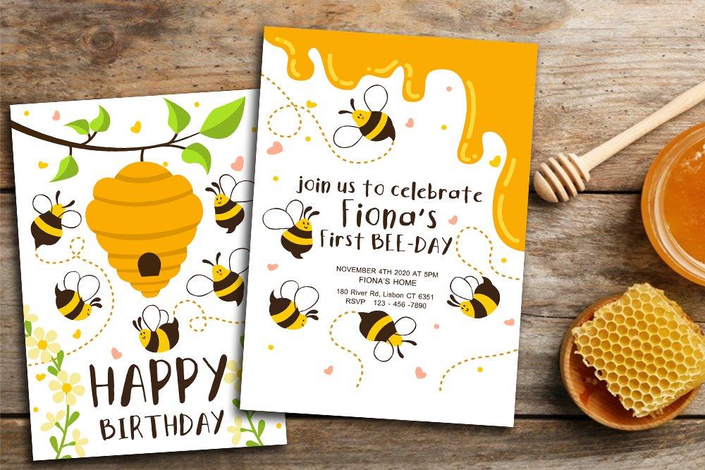 Bees theme Birthday invitation 🎉🎈🎂  Grab it - https://t.co/LP9KM1MMW6  #birthday #BirthdayWishes #birthdayboy #birthdaygirl #CARDS #win #funny #invitation #ico #HappyBirthday #Honey #France #Wish #loveit #tbt #LoveIslandUSA #party #etsy #kids #cute #GoodMorning #Instagram https://t.co/AOrcHatwJk